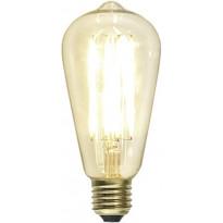 LED-lamppu Decoration LED 352-72 Ø64x142 mm E27 kirkas 3,6W 2200K 320lm himmennettävä
