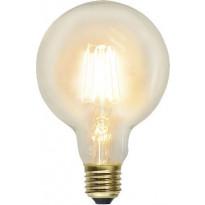 LED-polttimo Star Trading Soft Glow, E27, G95, 2,3W, 2100K
