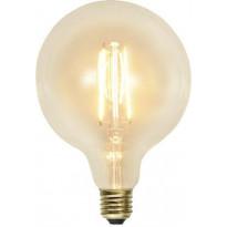 LED-polttimo Star Trading Soft Glow, E27, G125, 2,3W, 2100K