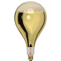 LED-polttimo Star Trading Industrial Vintage, E27, A165, 8W, 2000K himmennettävä, kulta