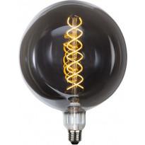 LED-polttimo Star Trading Industrial Vintage, E27, G200, 6W, 2000K himmennettävä, savu