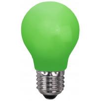 LED-lamppu Decoration LED 356-43 Ø55x95mm E27 0,7W vihreä