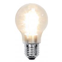 LED-lamppu Decoration LED 356-55 Ø55x95mm E27 kirkas 1,6W 2100K 136lm