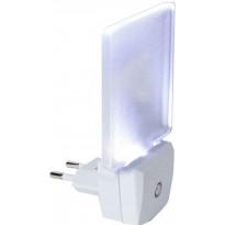 LED-yölamppu 357-11 75x63x114 mm 0,5W huurre pistotulpalla + hämäräkytkimellä