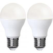 LED-polttimo Star Trading Promo, E27, 5W, 3000K, opaali, 2 kpl