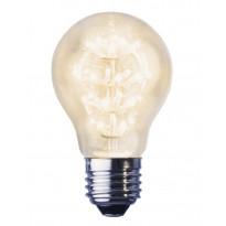LED-lamppu Decoration LED 358-11 Ø55x93mm E27 kirkas 1,4W 2100K 150lm
