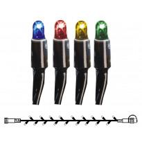 Valonauha System LED Extra musta 4W 50 valoa 5m monivärinen