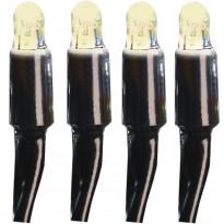 Valonauha System LED Extra musta 4W 50 valoa 5m lämmin valkoinen