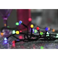 LED-värivaloketju Star Trading Cherry, 400cm, IP44, 40 valoa