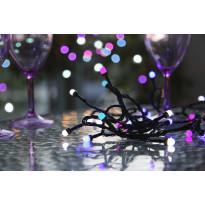 LED-värivaloketju Star Trading Cherry, 400cm, IP44, 42 valoa