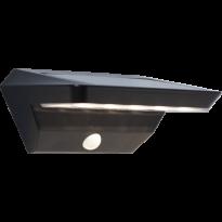 Aurinkokennoseinävalaisin Star Trading Wally LED, 220x120x90mm, musta