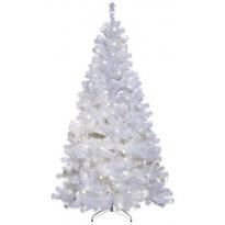 LED-joulukuusi Star Trading Ottawa 210cm, IP44, valkoinen