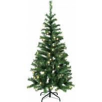 LED-joulukuusi Star Trading Kalix, 150cm, IP44, vihreä