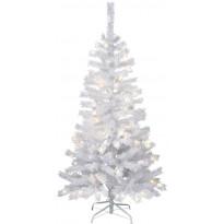 LED-joulukuusi Star Trading Kalix, 150cm, IP44, valkoinen