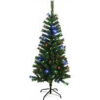 LED-joulukuusi Star Trading Kalix, 150cm, IP44, RGB, vihreä