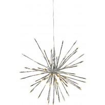 LED-valokoriste Star Trading Firework, Ø 30cm, IP44, hopea