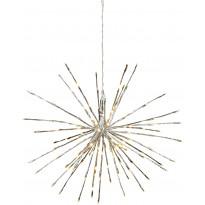 LED-valokoriste Star Trading Firework, Ø 60cm, IP44, hopea
