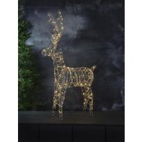 LED-valokoriste Star Trading Sarve, 600x1050x200mm, harmaa