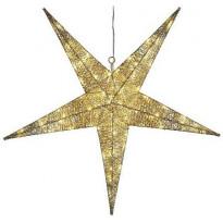 Valotähti Star Trading Sequini, LED, Ø75cm, kulta