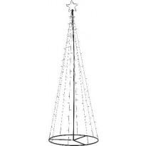 Koristepuu Star Trading, LED, 210cm, musta