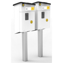 Postilaatikon jalka Stala kahdelle PL-2 laatikolle