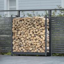 Puuteline Stala Wood Rack 360, ulko- ja sisäkäyttöön