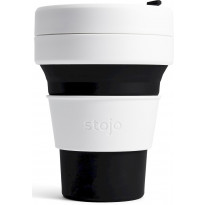 Kokoontaittuva muki Stojo Pocket Cup Black, 355ml