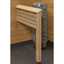 Kiukaan suojakaide/jalkatuki Sun Sauna Classic I-malli
