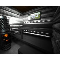 Laudepaketti Sun Sauna Log max 1700mm, kuusi