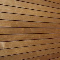 Saunapaneeli Sun Sauna STS 15x68x2400mm, lämpökäsitelty tervaleppä tumma