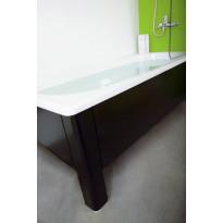 Kylpyamme Svedbergs, 1700x700mm, emali, sis. etulevy ja päätylevyt, musta