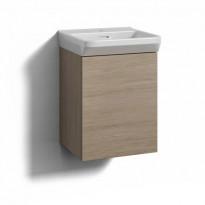 Forma Alaosa 40x35 Vaal Tammi, 1 laatikko + Pesuallas Svedbergs Sand 40, valkoinen, Verkkokaupan poistotuote