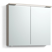 Peilikaappi Svedbergs Skuru 80, LED-valaisin, pistorasia, eri värivaihtoehtoja