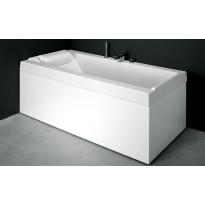 Etu- ja päätylevy kylpyammeeseen Svedbergs R180, valkoinen