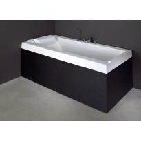 Etu- ja päätylevy kylpyammeeseen Svedbergs R180, musta