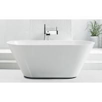 Kylpyamme Svedbergs Oval 158, 1580x720mm, valumarmori, valkoinen