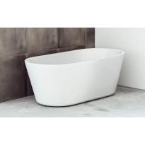 Kylpyamme Svedbergs Ume, vapaasti seisova, 159.5x59.0x75.0 cm, valkoinen