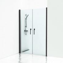 Forsa kaksiovinen suihkuseinä, 198x100-190cm, eri värejä