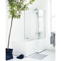 Forsa suihkukulma kylpyammeelle, 144x85x85cm, eri värejä