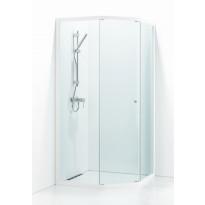 Suihkukulma Svedbergs Ritual 90x90, valkoinen, kirkas lasi