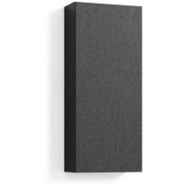 Seinäkaappi 70x30x15cm, musta tammi