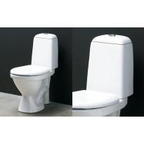 WC-istuin 9021 S-lukolla, kova/pehmeä istuinkansi