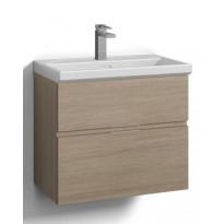 Allaskalustepaketti Forma Sand 60x35cm, 2 laatikkoa, integroidut vetimet, eri värivaihtoehtoja