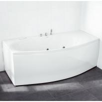 Kylpyamme Svedbergs Z180, 180x70/90cm, akryyli, valkoinen
