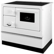 Keskuslämmitysliesi Thorma Susanna-K 85, 7 kW, valkoinen, oikeakätinen