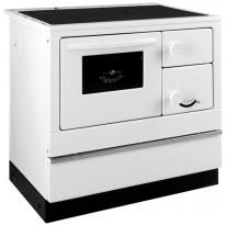Keskuslämmitysliesi Thorma Susanna-K 85, 7 kW, valkoinen, vasenkätinen