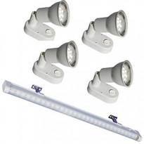 LED-valaisinpaketti Sunwind Basic 12 V