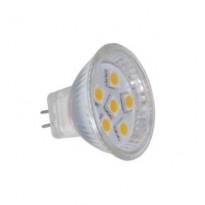 LED-kohdelamppu Sunwind G4, MR11, 6 SMD 3W 12V Ø35mm 180lm 2700K