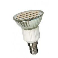LED-kohdelamppu Sunwind E14, MR16, 48 SMD 3W 12V Ø50mm 180lm 2700K