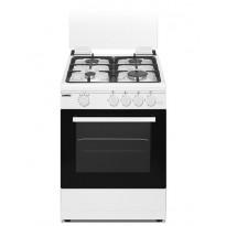 Kaasuliesi Sunwind Chef 60 Pro, 60cm, valkoinen